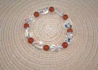 Hegyikristály-Karneol