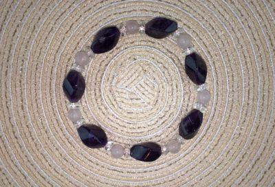 Ametiszt-Hegyikristály-Rózsakvarc